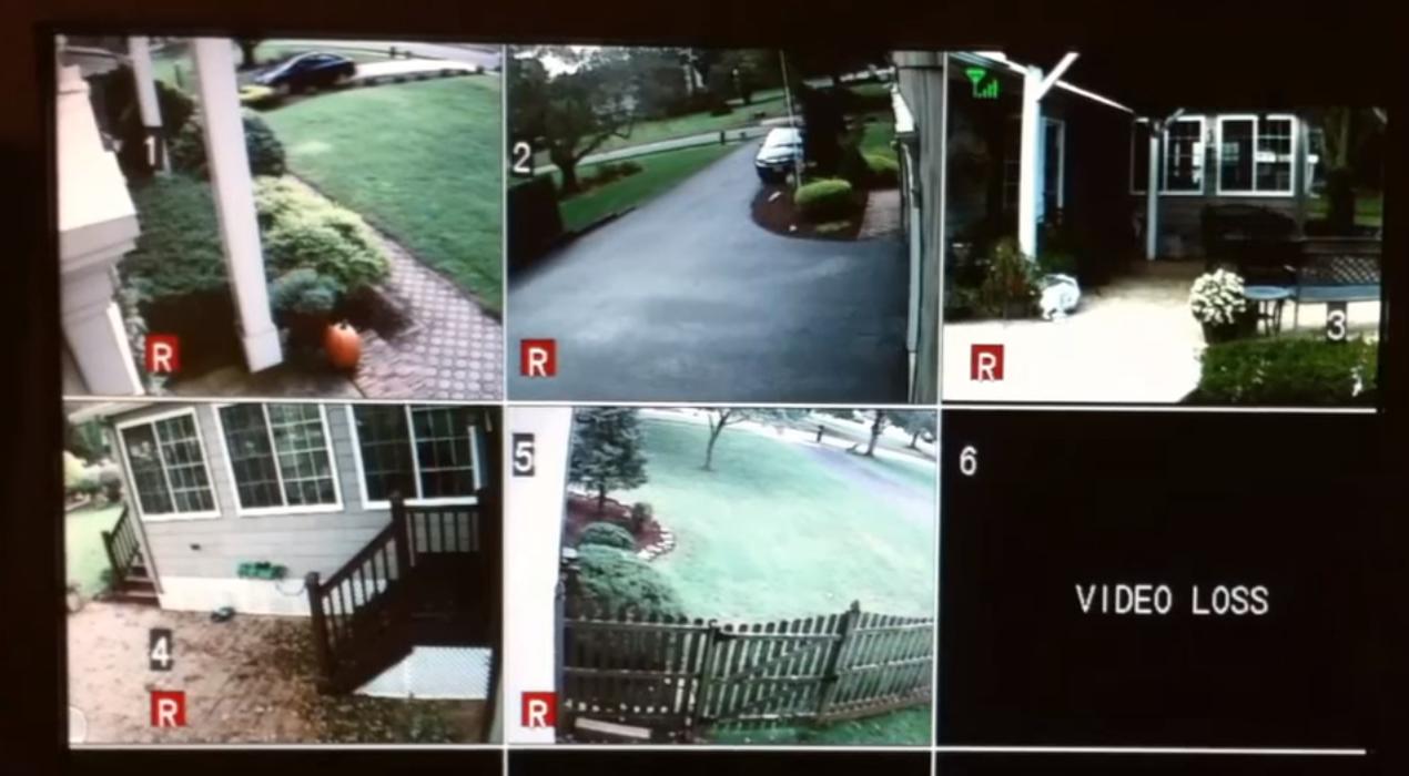 home surveillance system installation
