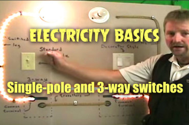 Understanding Single Pole and 3-Way Switches