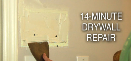 Repair Drywall in 14 Minutes