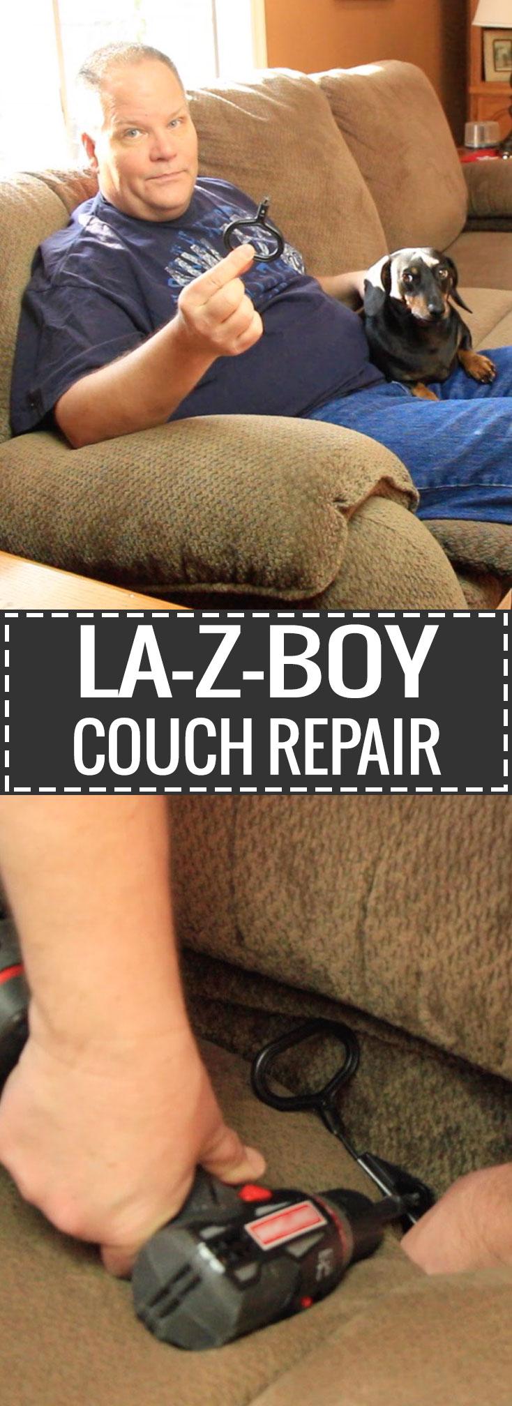 La-Z-Boy Couch Recliner Repair