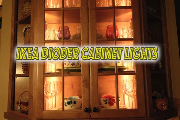 IKEA Dioder Cabinet Lights