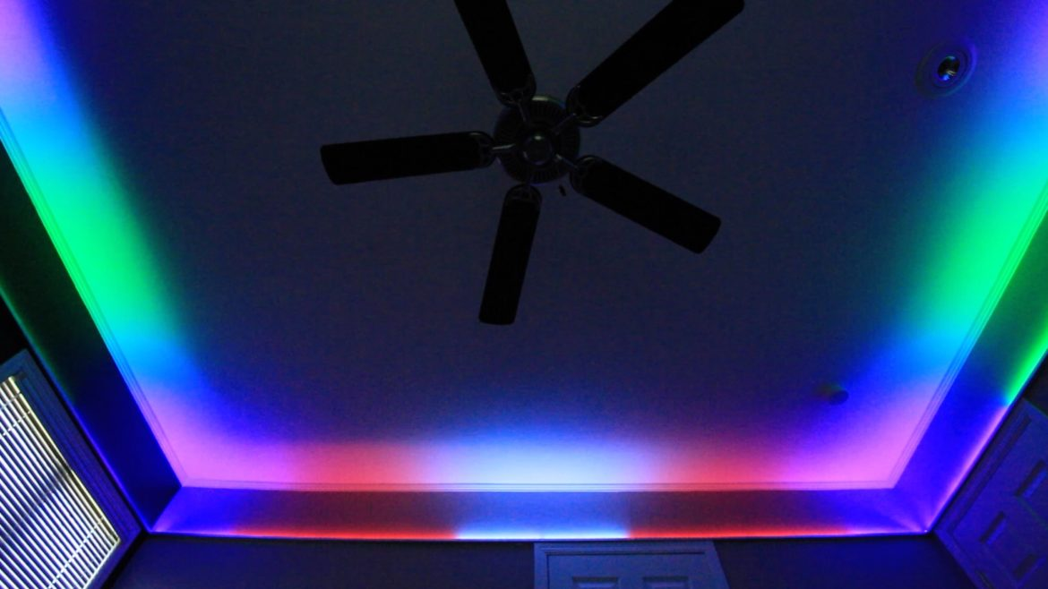 Crazy Bedroom Lighting
