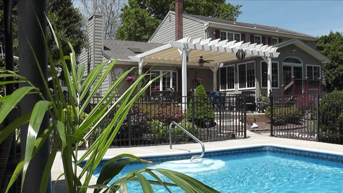 Summer Prep: Pool, Pergola and Patio
