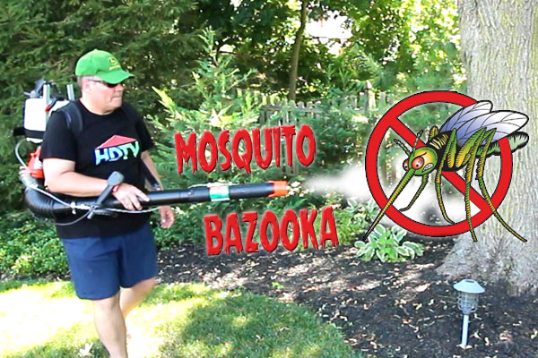 Build a Mosquito Bazooka