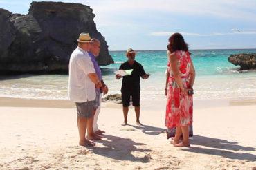 Vow Renewal in Bermuda