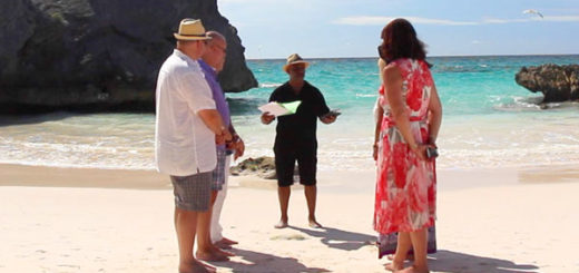 vow renewal in bermuda