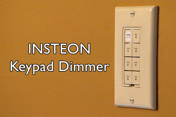 Insteon Keypad Dimmer