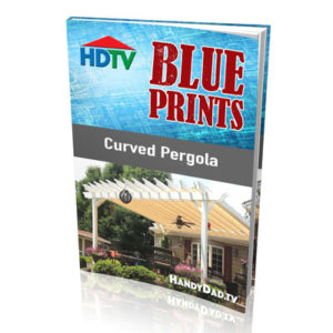 Curved Pergola Blueprints