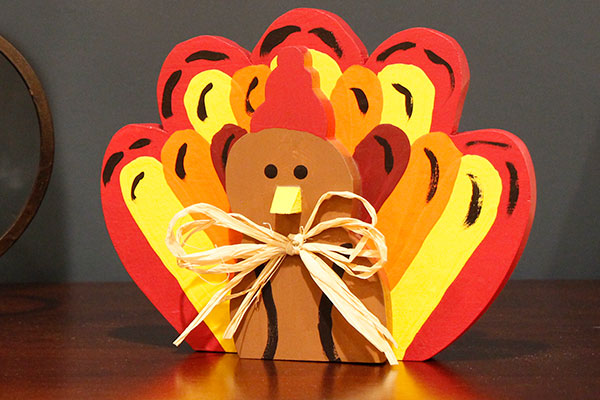 Turkey Wood Craft – Free Pattern