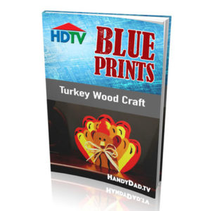 Turkey Wood Craft Pattern