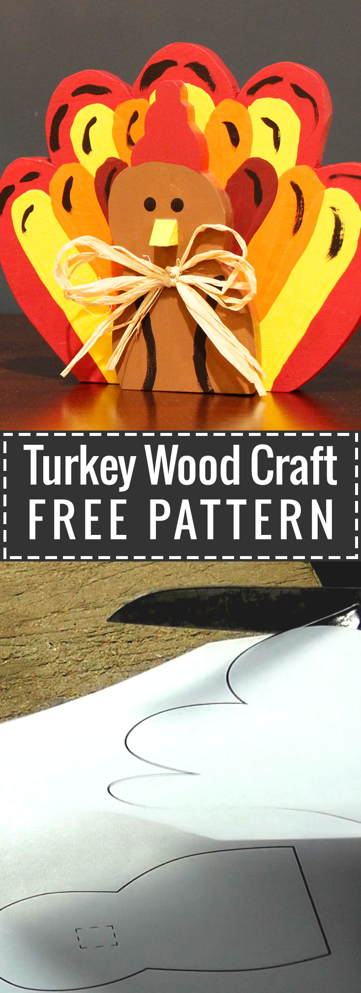 Turkey Wood Craft Free Pattern