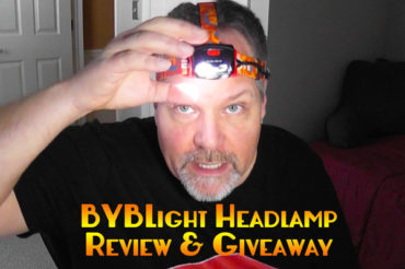 BYBLight Headlamp Review & Giveaway
