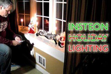 Insteon Holiday Lighting