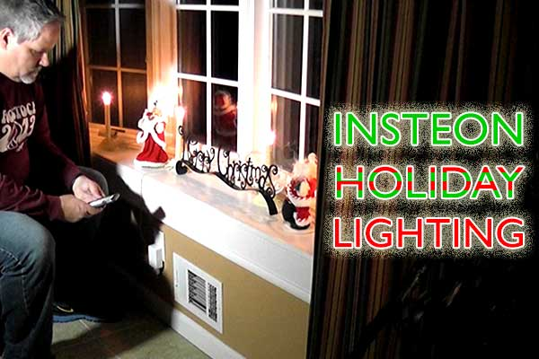 Insteon Holiday Lighting