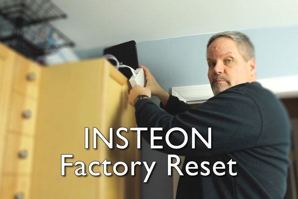 Insteon Factory Reset