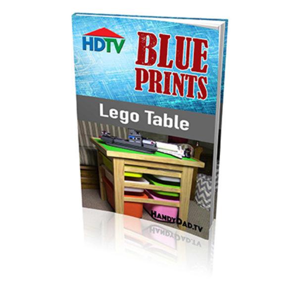 Lego Table Blueprints