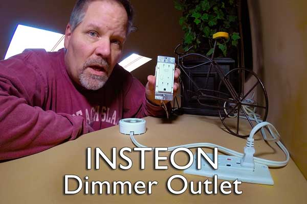 Insteon Dimmer Outlet Installation