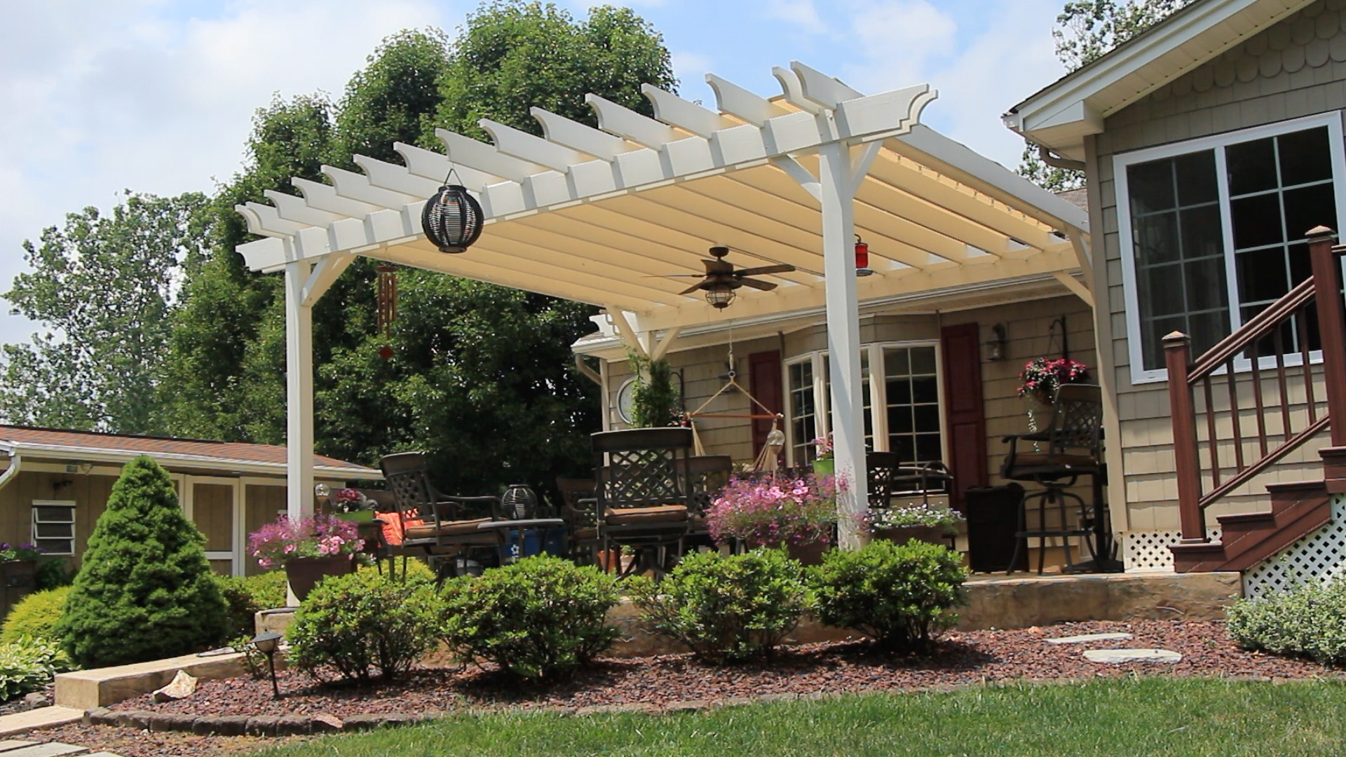 Build A Curved Pergola For 800 Handydadtv